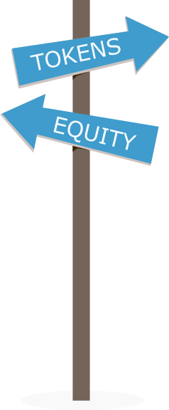The difference between crypto tokens and equity