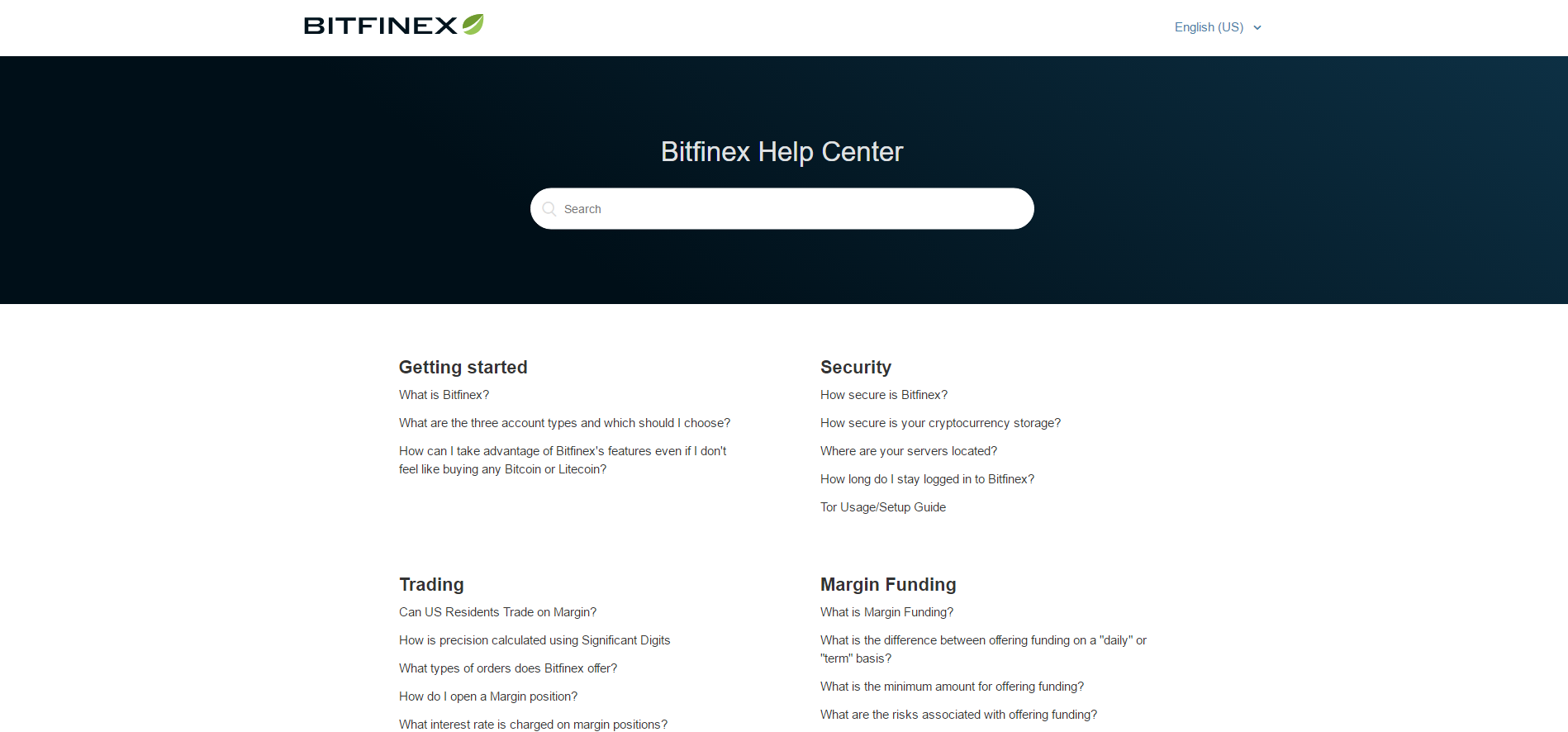 Bitifnex Bitcoin Exchange