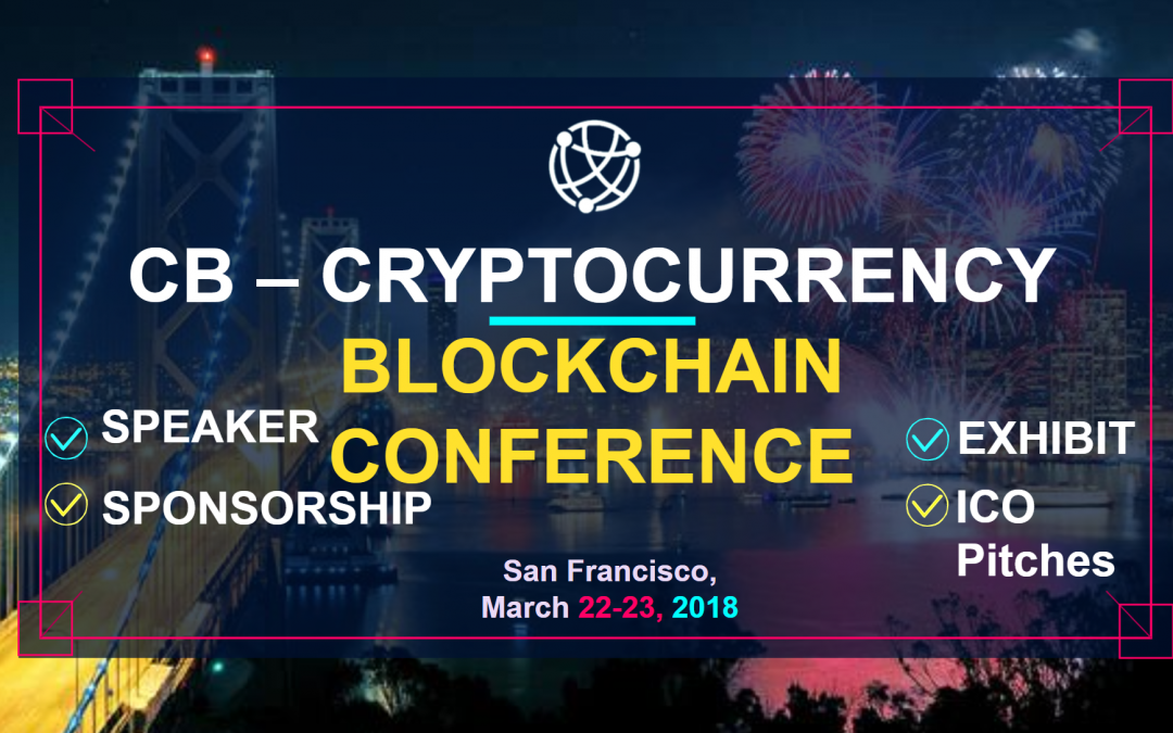 CB Blockchain Conference: March 22-23 in San Francisco