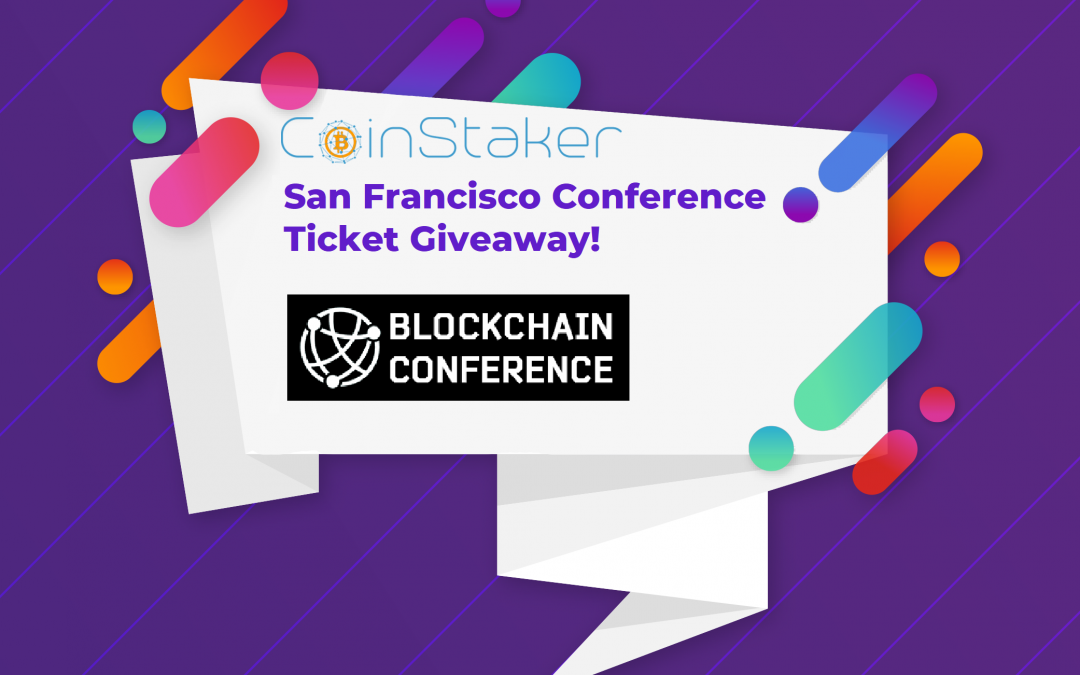 Giveaway: 1x CB Blockchain Conference Ticket