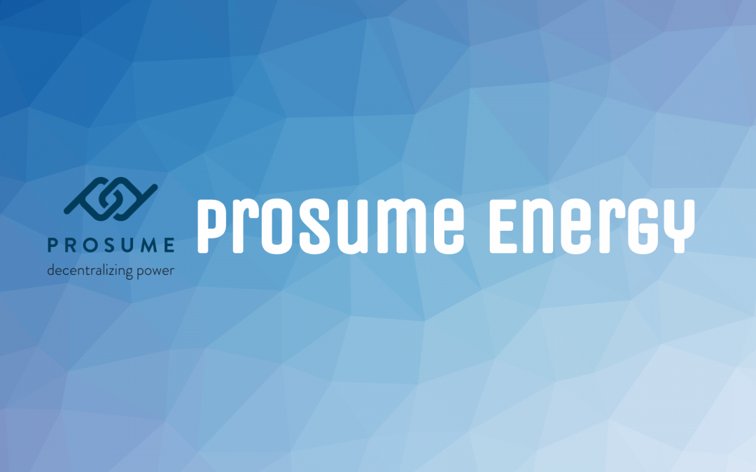 ICO: Prosume Energy – the Initial Coin Offering