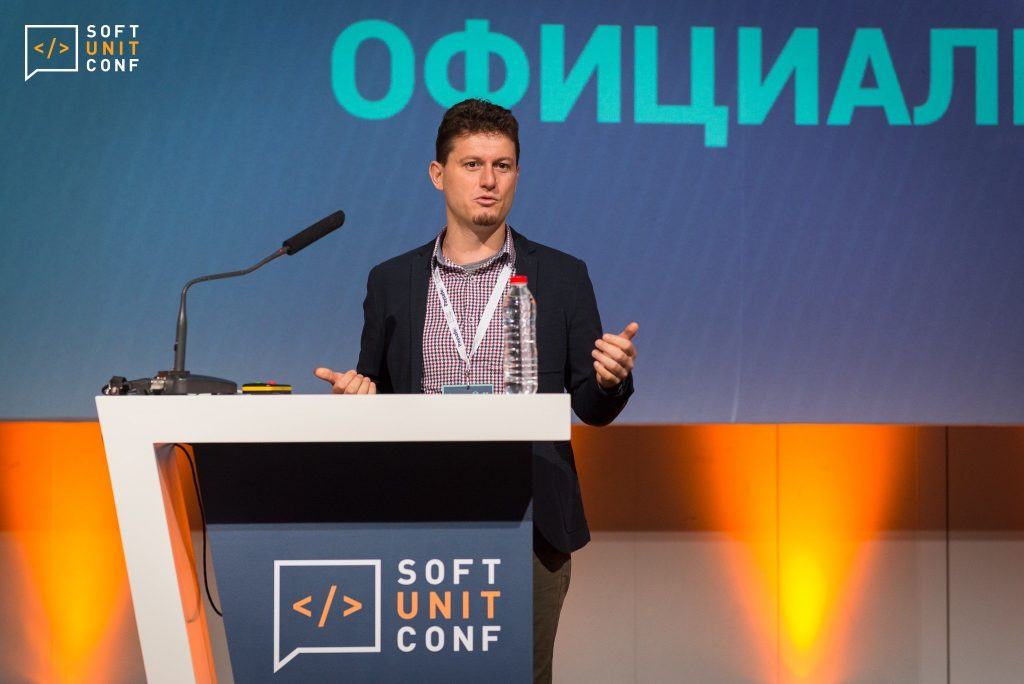 Svetlin Nakov at Soft Unit Conf