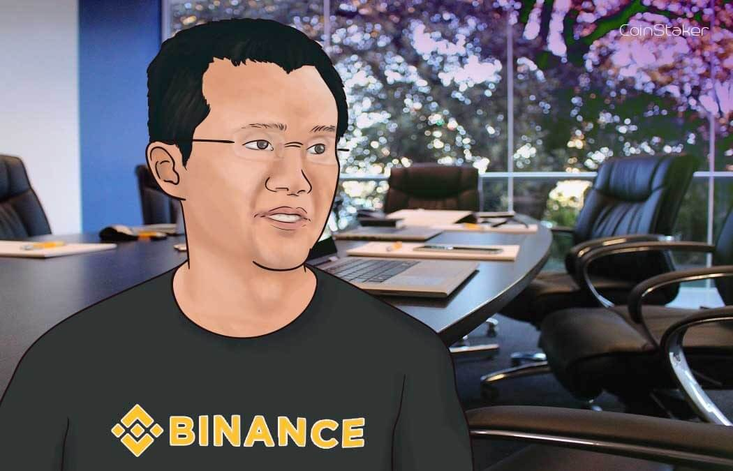 Changpeng Zhao, the CEO of Binance criticized for advising holding on exchanges